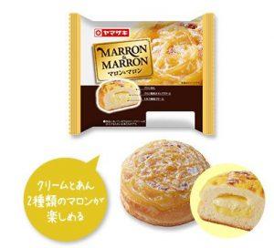ヤマザキのマロン&マロン